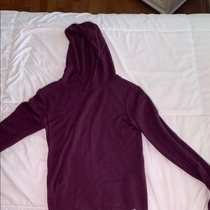 very soft thin hoodie